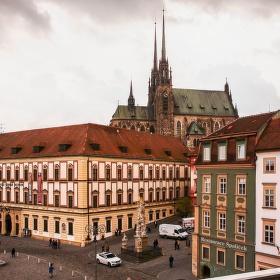 Brno 3 v 1 - kostel, hospoda a muzeum