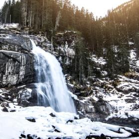 Krimmlské vodopády, Rakousko