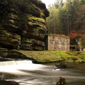 Dolský mlýn (tam kde Pyšná princezna pracovala)