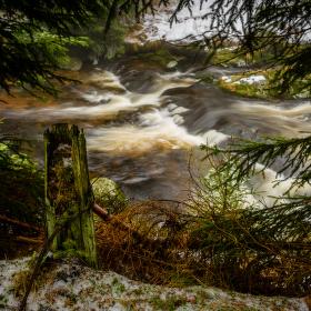 Tmavý potok