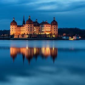 Popelčin zámek Moritzburg