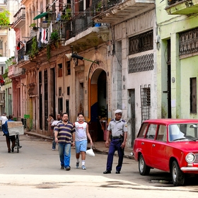 V uliciach Havany