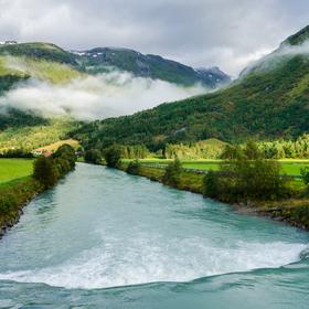 Ledovcová řeka - Votedalselva