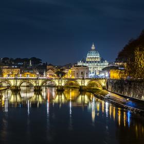 Bazilika svatého Petra a Řím
