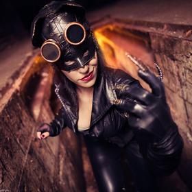 Steampunk Catwoman