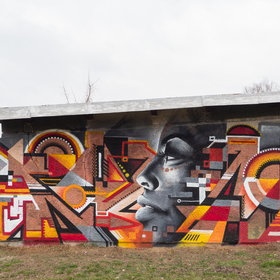 Graffiti garáž