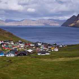Vesnice ve fjordu...