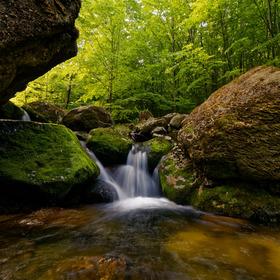 Vodopády na Černém potoce