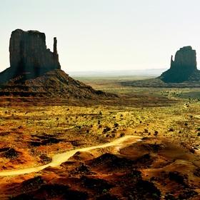 Monument Valley - dva palčáky