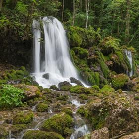Vodopád na řece Mixnitzbach