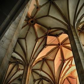 Klenby a stropy (kostel Nanebevzetí Panny Marie v Ústí nad Labem)