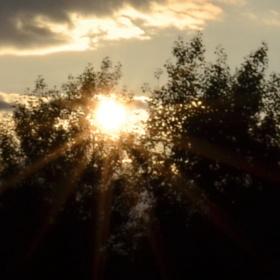 západ slunce 2