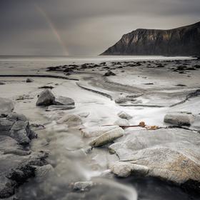 Skagsanden beach_2_Lofoty__Norsko