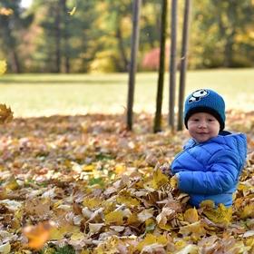 ...podzimní radost...Ondrášek...