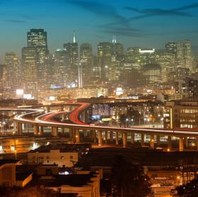 Podvečer v San Franciscu