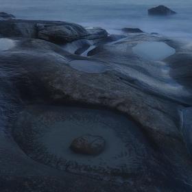 Norsko Lofoty pláž Utakleiv