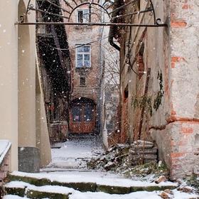 Starý dvorek v Olomouci