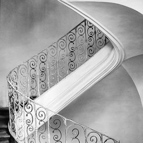 Fragment schodiště