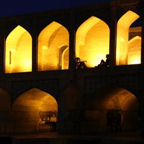 Noční život v Isfahanu