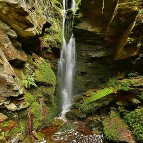 vodopád falkenstein