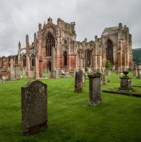 Katedrála Merlose Abbey