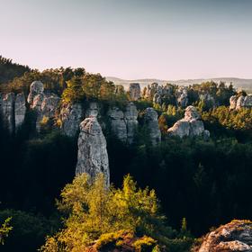 Vyhlídka Na Kapelu, Hrubá Skála, Český ráj