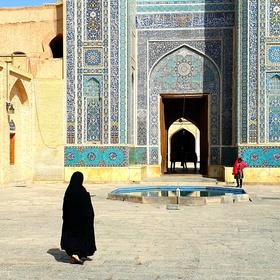 Před mešitou