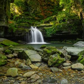 Satinský vodopád