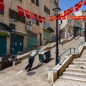 Ve svatém městě Betlémě
