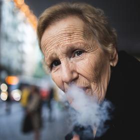 smoking..