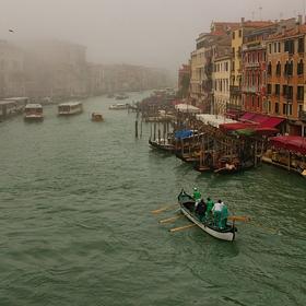Mlha v Benátkách