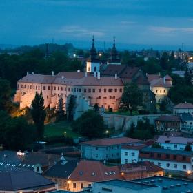 noc kostelů (zámek Třebíč)