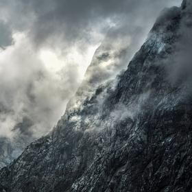 cestou na Rateški Mali Mangart / Piccolo Mangart (2263 m)