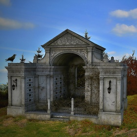 Opuštěná hrobka