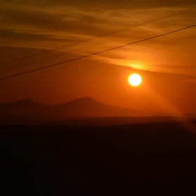 Západ slunce na konci světa
