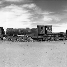 Hřbitov vlaků, Bolívie