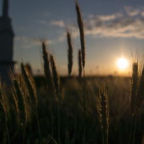 Západ slunce na hranici