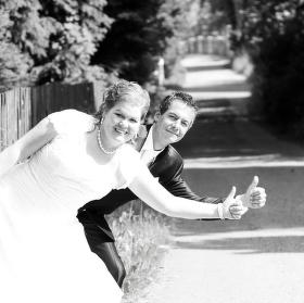 Odjezd ze svatby