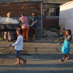 Děti townshipu