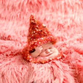 Skřítková princezna - newborn - 6 dní