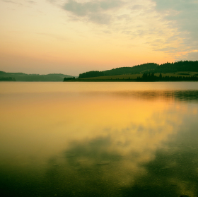 ráno u Slezské Harty