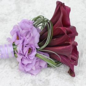 svatební kytice kaly