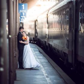 Svatba na nádraží