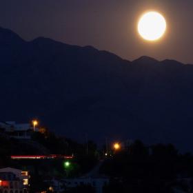 Měsíc nad Jadranem