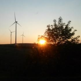 Moravský západ slunce
