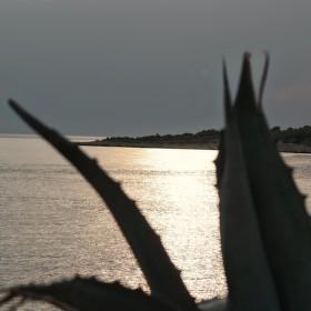 Západ slunce u Sevidu, Dalmacie