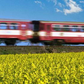 Na trati Praha-Slaný