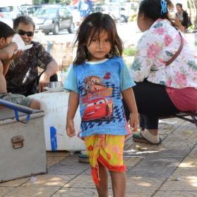 Kambodžské děvče