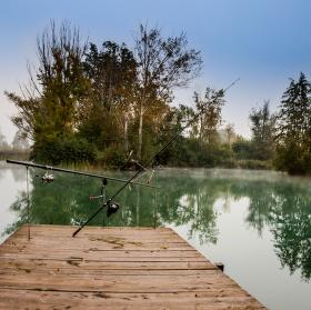 Panoráma na jezeře