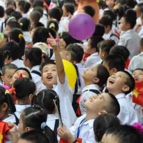 První školní den v Hanoji